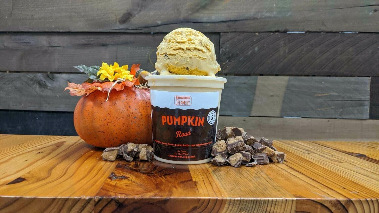 Pumpkin Road Ice Cream