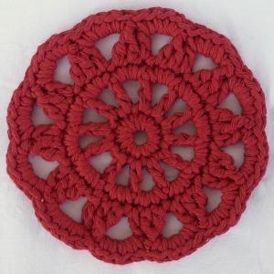 Rosetti-pannunalunen, punainen