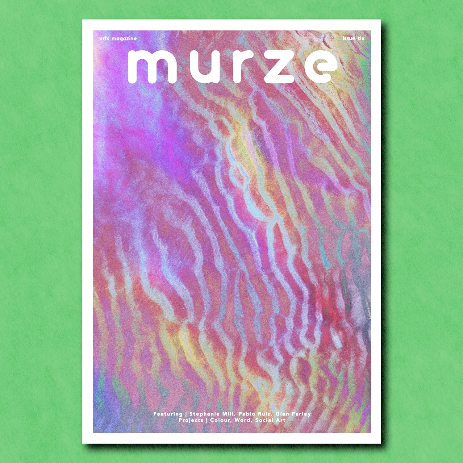 Murze Issue Six | Printed Edition | Social Art