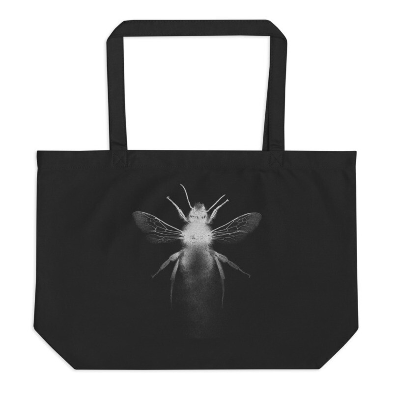 Large Bee organic bag