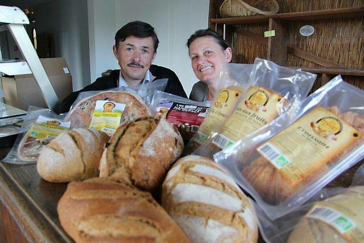 Miche de pain bio de 1kg -  Pinabel