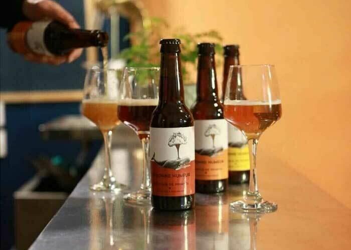 Bière artisanale bio