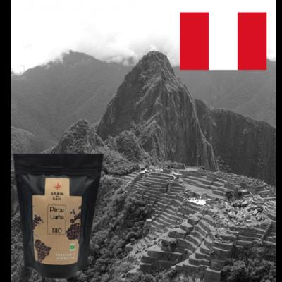 Café Grains du Pérou, transformation locale, bio