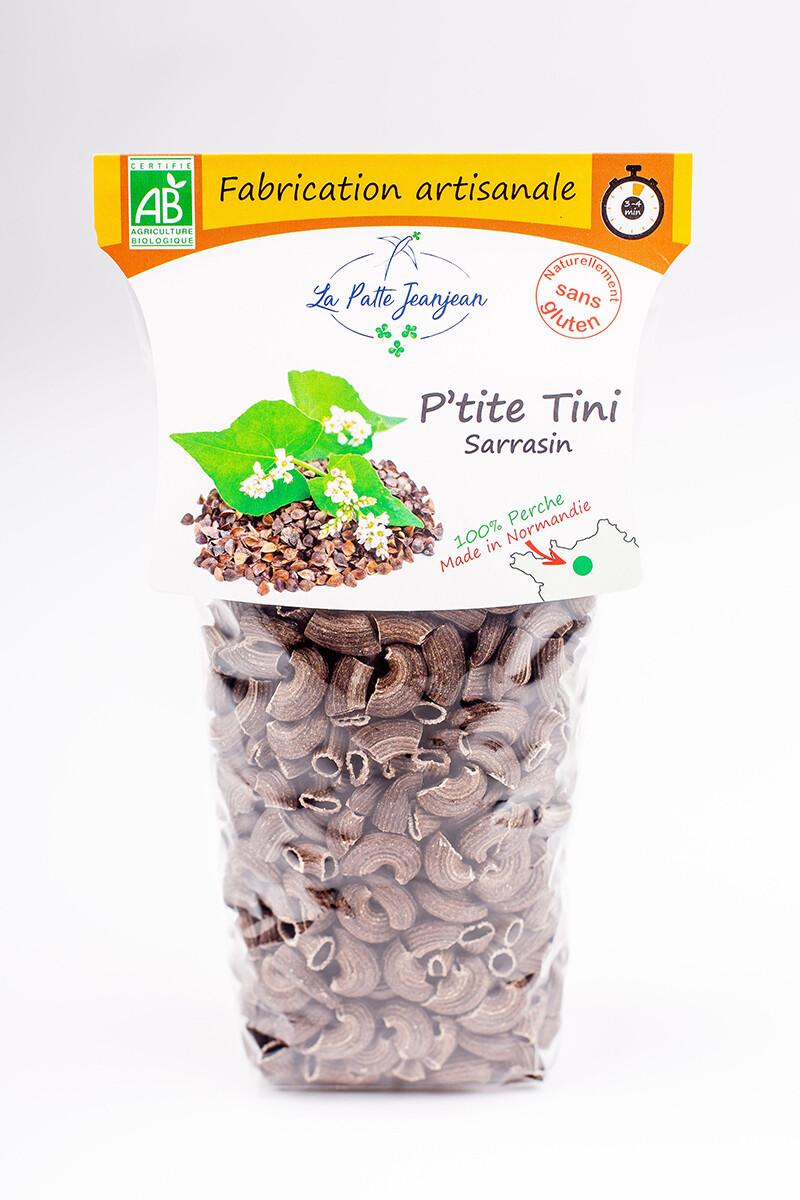 Pâtes Bio - P'tite Tini au sarrasin, 500 gr