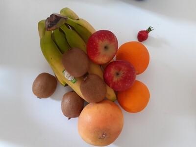 Panier de fruits d'été Bio