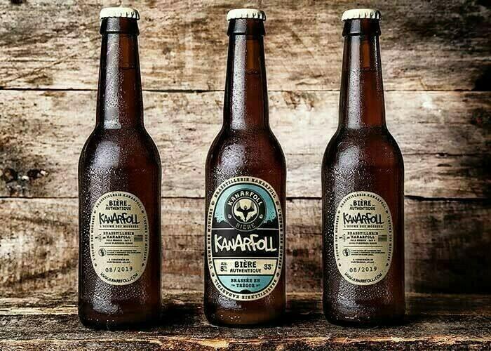Bière artisanale  Kanarfoll IPA 75cl