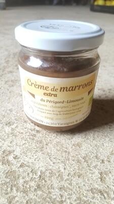 Crème de marron, Bio, 190gr