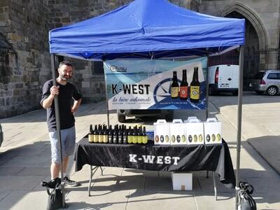 Bière ambrée k west 33cl (saint brieuc)
