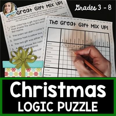 Christmas Logic Puzzle