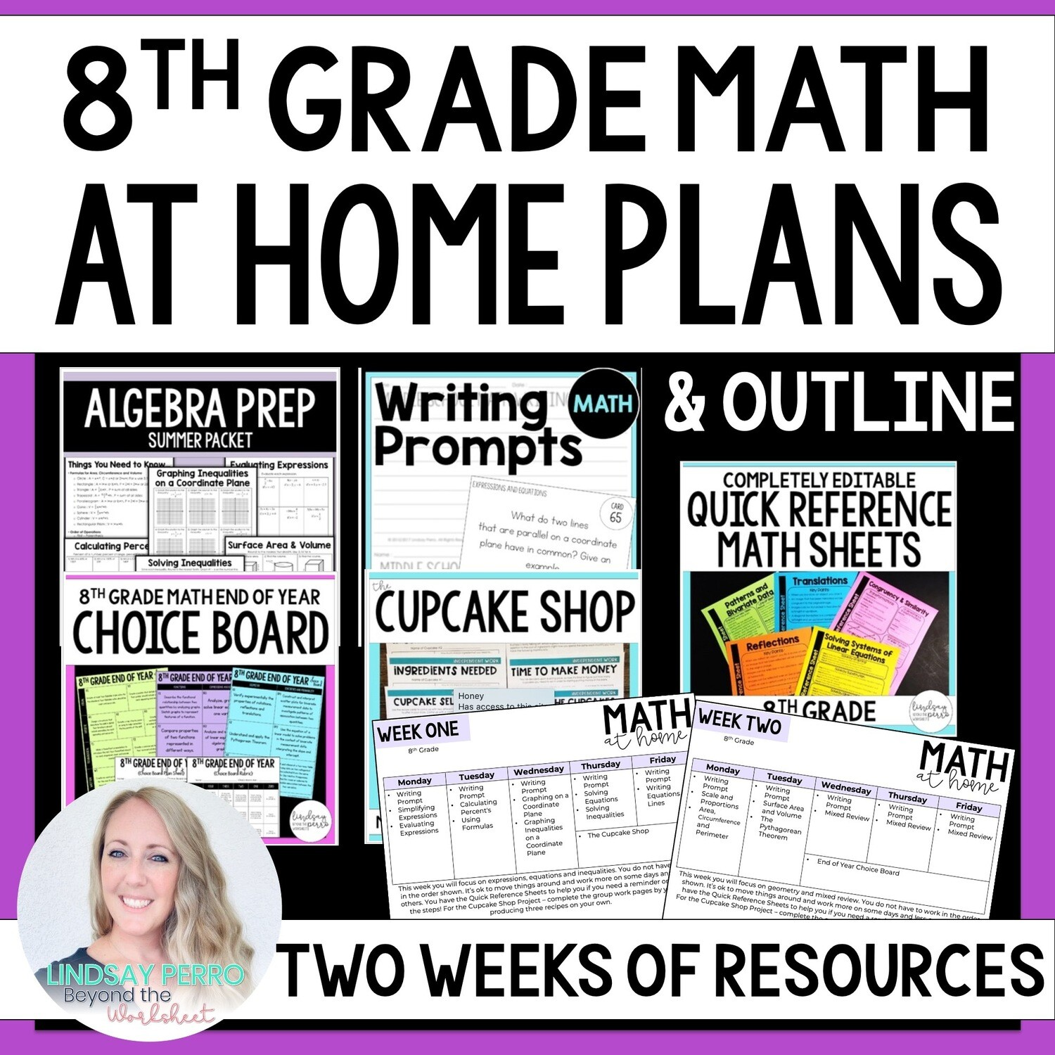8th Grade Math Home Learning Packet