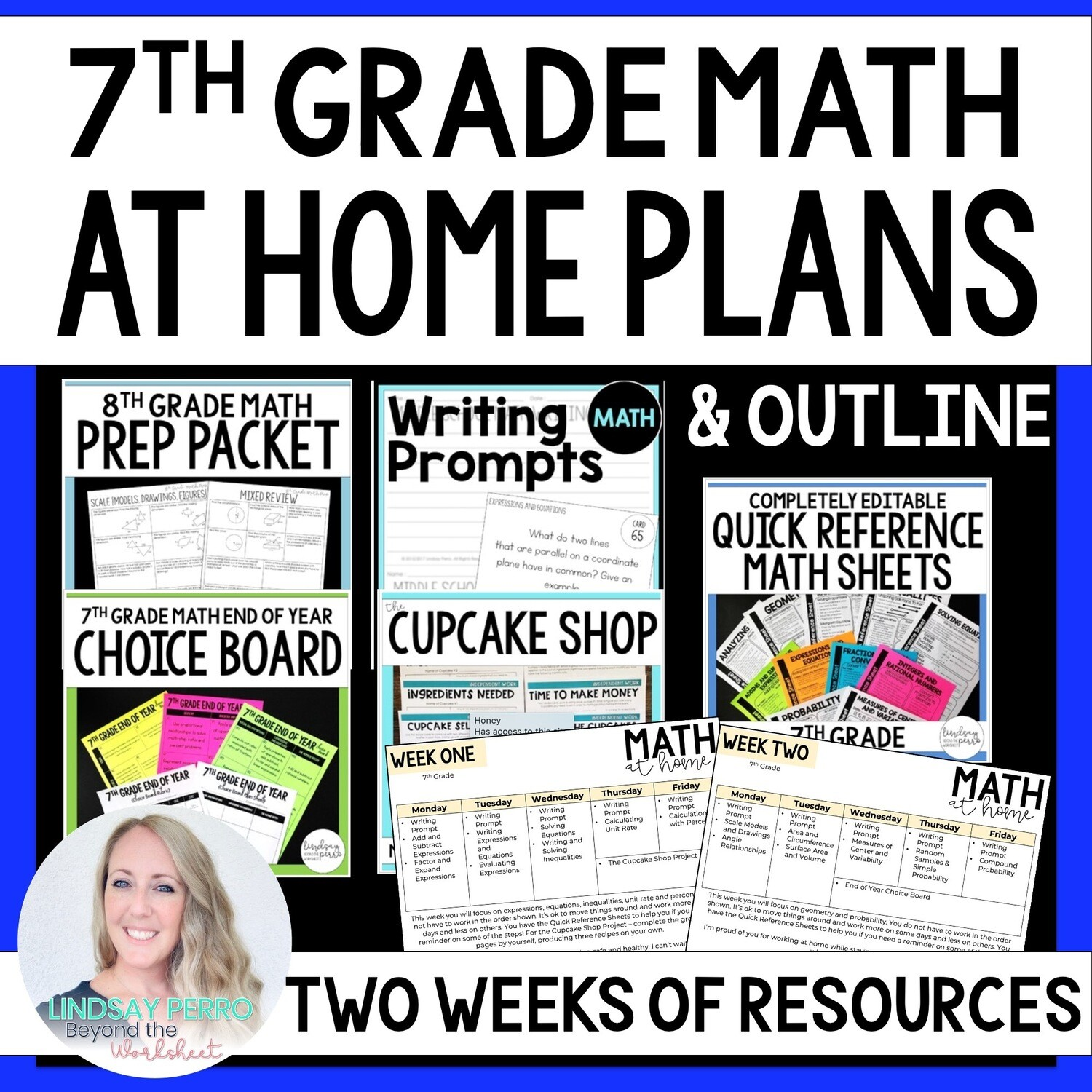 7th Grade Math Home Learning Packet
