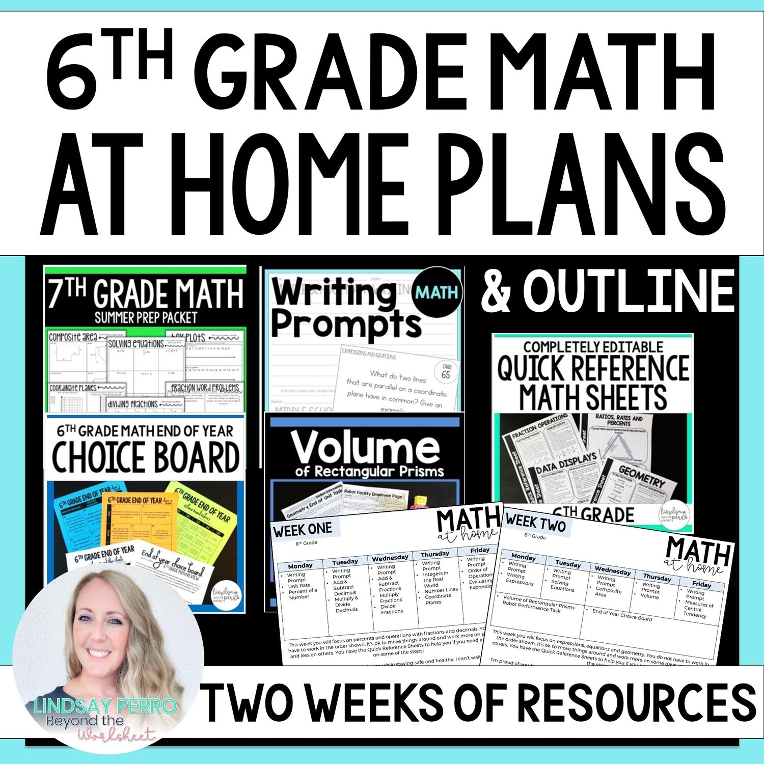 6th Grade Math Home Learning Packet