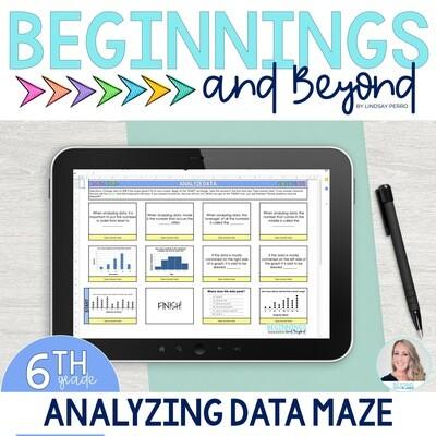 Analyzing Data Digital Maze