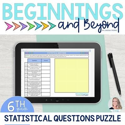 Statistical Questions Digital Puzzle
