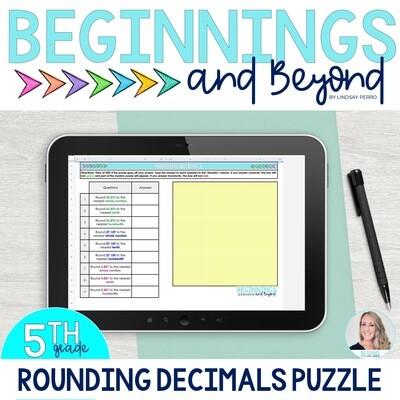 Rounding Decimals Digital Puzzle