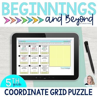 Coordinate Grids Digital Puzzle