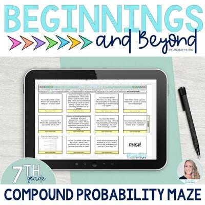 Compound Probability Digital Maze