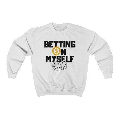 """Betting on Myself"" Unisex Heavy Blend™  Crewneck Sweatshirt"