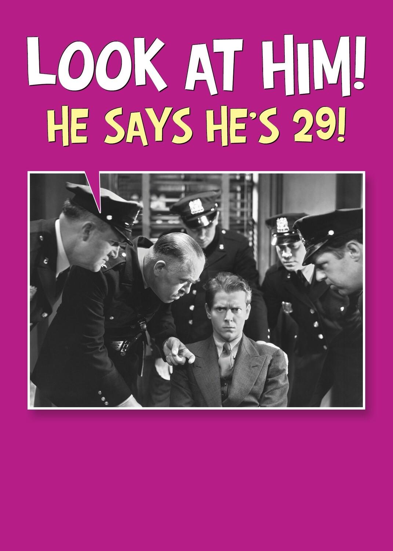 SA7047  Birthday Card