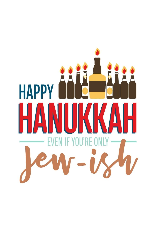 IKIH010 Hanukkah Card