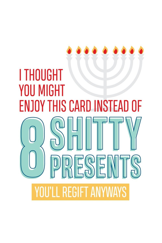 IKIH011 Hanukkah Card