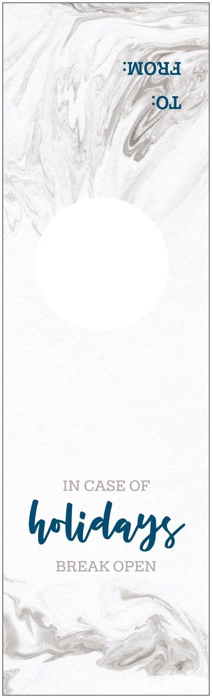 IKIH900 Holiday Wine Tag