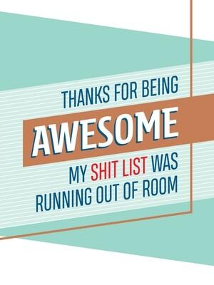 IKI703 Thank You Card