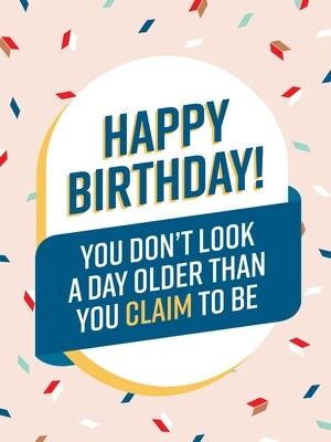 IKI317 Birthday Card