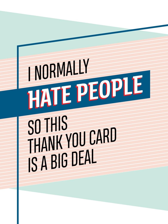 IKI701 Thank You Card