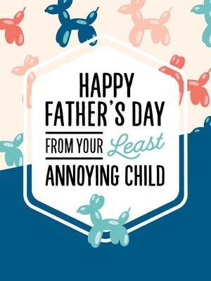 IKI855 Father's Day Card