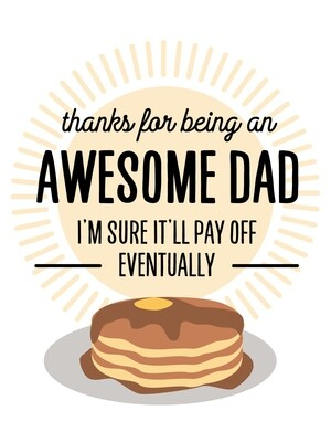 IKI857 Father's Day Card