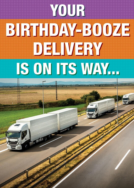 SA7076  Birthday Card