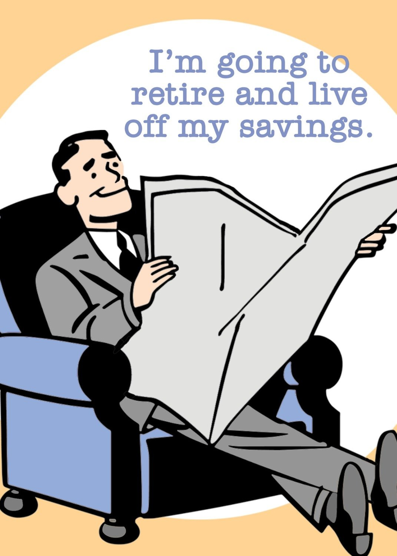 SA6682  Retirement Card