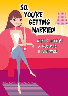SA6246 Marriage Card