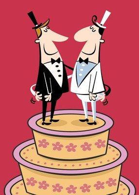 SA6442 Marriage Card