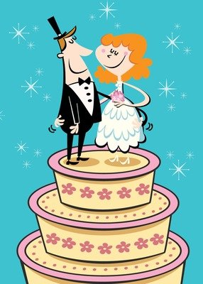 SA6515 Marriage Card