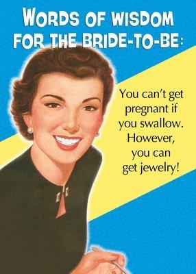 SA6566 Marriage Card