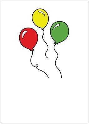SQ008  Birthday Card