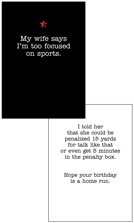 CFG002  Birthday Card
