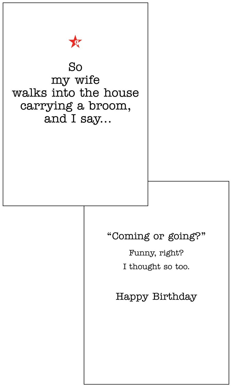 CFG042  Birthday Card