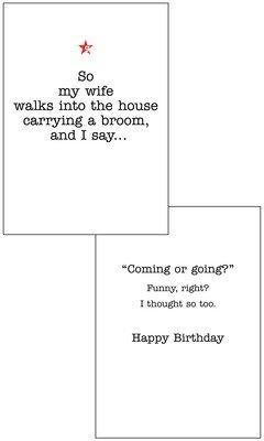 CFG042  Birthday Card