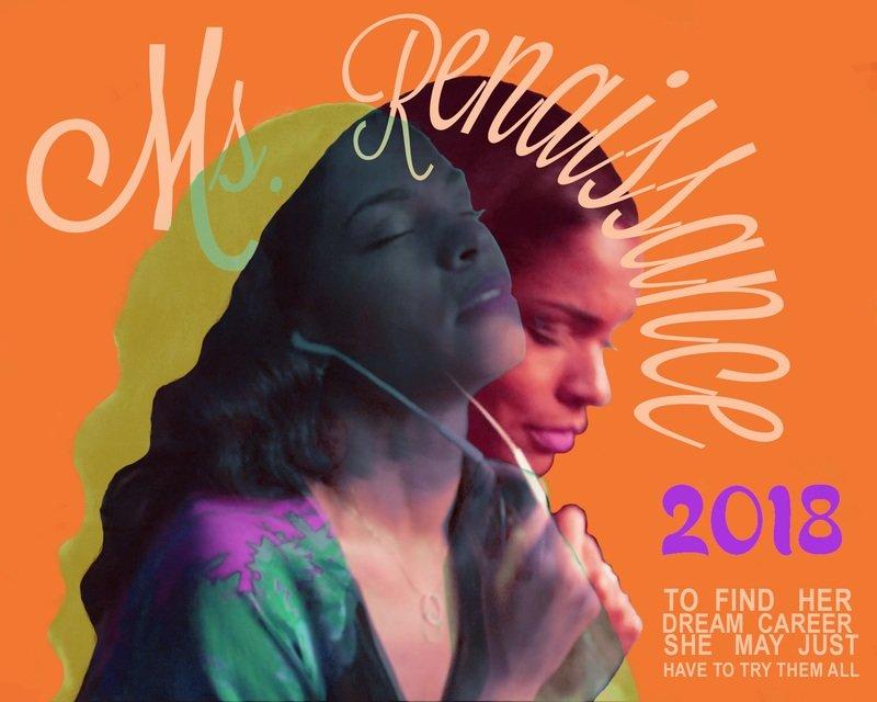 Orange Ms. Renaissance Poster