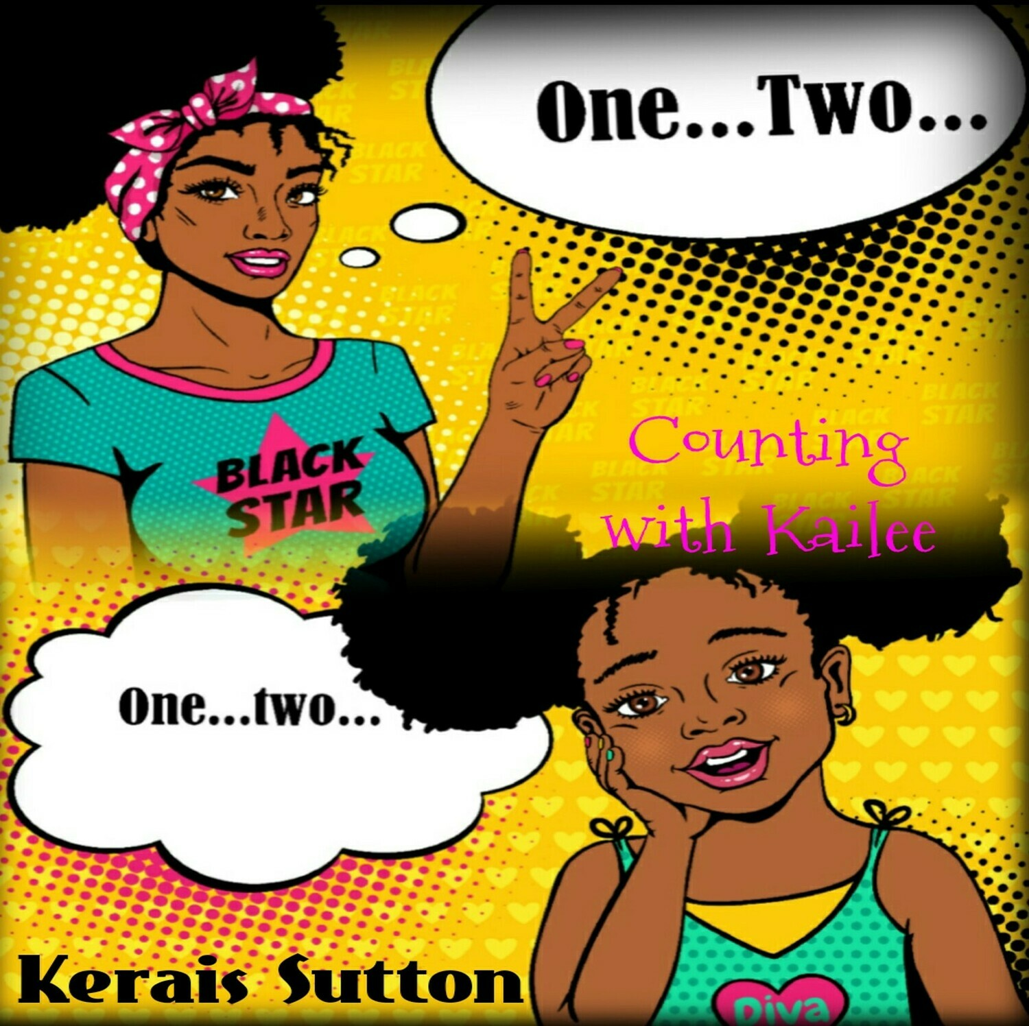 Counting with Kailee - by Kerais Sutton - Paperback
