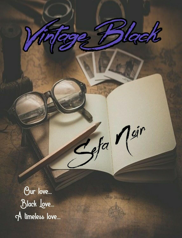 Vintage Black, by Sefa Noir - paperback