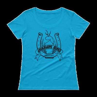 Jackalope Acres Lightweight Ladies T-Shirt