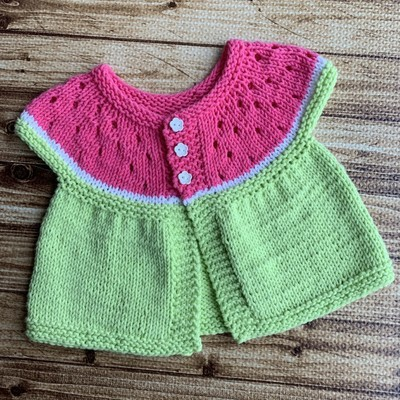 Watermelon Cardi Kit