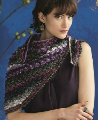 Hyacinth Stitch Shawl Kit