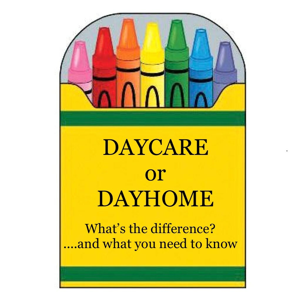 Daycare or Dayhome? What You Need To Know 00001