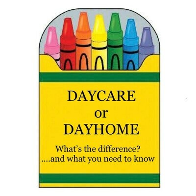 Daycare or Dayhome? What You Need To Know