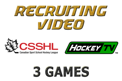 CSSHL 3 Game Special